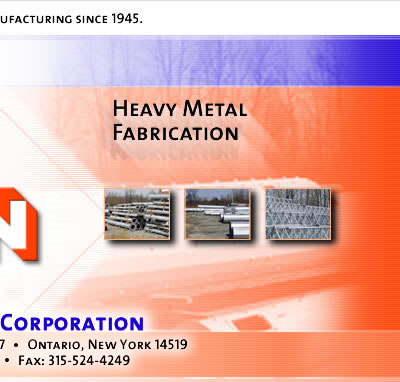 Fred A. Nudd - Metal Fabrication