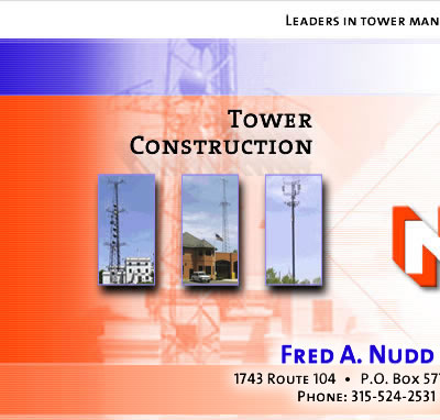 Fred A. Nudd - Tower Construction